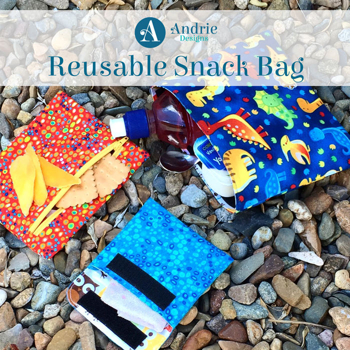 Reusable Snack Bag - Pattern Inspiration - Andrie Designs