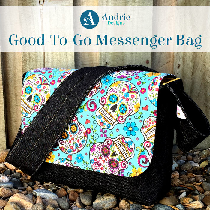 Good-To-Go Messenger Bag - Pattern Inspiration - Andrie Designs
