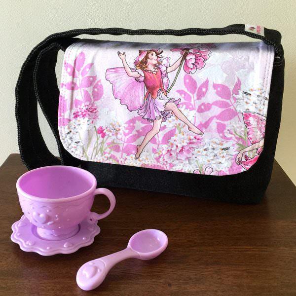 Garden fairies Good-To-Go Messenger Bag - Andrie Designs