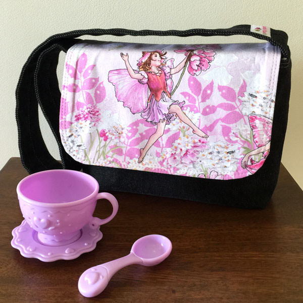 Garden fairies Good-To-Go Messenger Bag - Andrie Designs