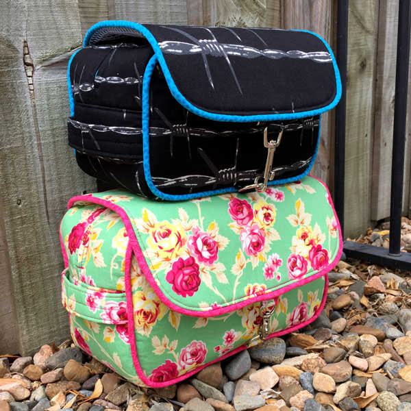 Two sizes included! Hang About Toiletry Bag - Andrie Designs