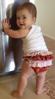 5Berries Ruffled Diaper Cover - Andrie Designs
