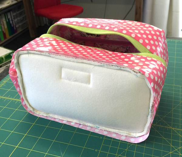 Hang About Toiletry Bag Sew Along - pattern by Andrie Designs