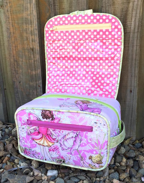 Hang About Toiletry Bag Sew Along - two pretty poppets