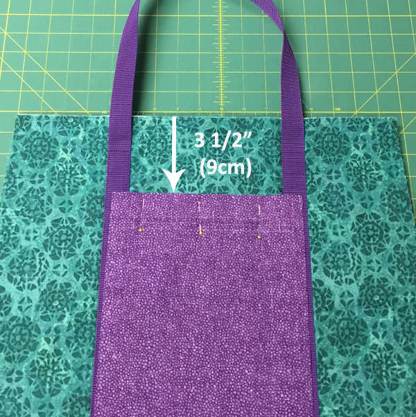 Insulated Lunch Bag - Pattern Hack - two pretty poppets