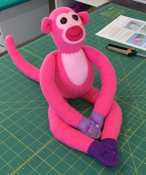 Cheeky Monkey Softie - Jody's Crafty Creations