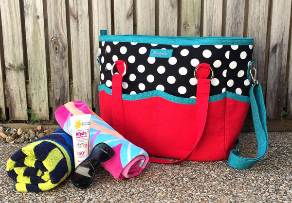 Full view of the Summer Lovin' Beach Tote - Andrie Designs
