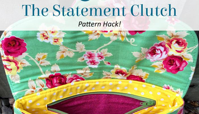 The Statement Clutch – Pattern Hack!