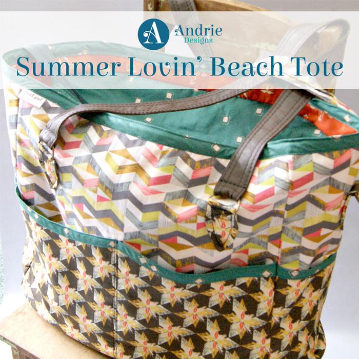 Summer Lovin' Beach Tote - Andrie Designs