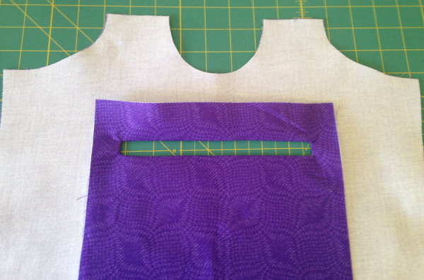 Stand Up and Tote Notice Inner Zipper Pocket Pattern Hack - two pretty poppets