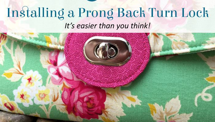 Installing a Prong Back Turn Lock
