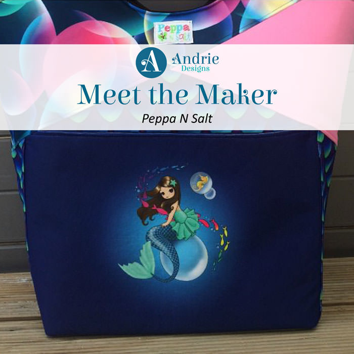 Meet the Maker: Peppa N Salt - Andrie Designs