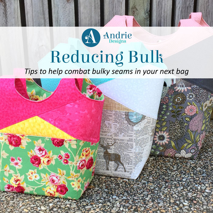 Reducing Bulk - Andrie Designs