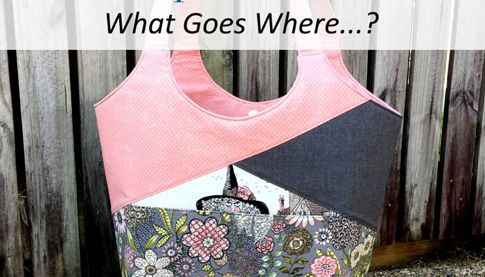 Stand Up & Tote Notice – What Goes Where?