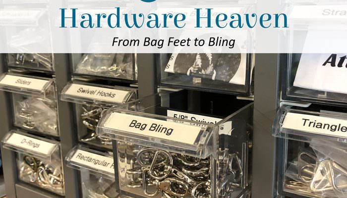 Hardware Heaven: From Bag Feet to Bling