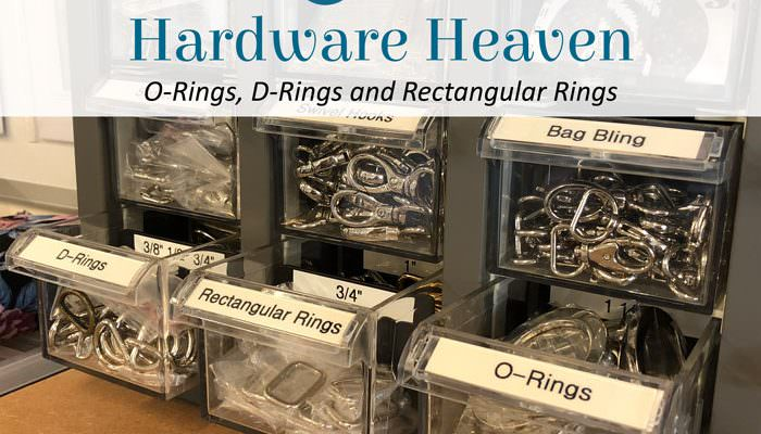 Hardware Heaven: O-Rings, D-Rings and Rectangular Rings