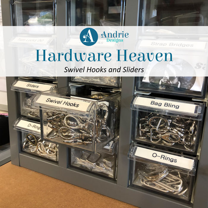 Hardware Heaven: Swivel Hooks and Sliders - Andrie Designs