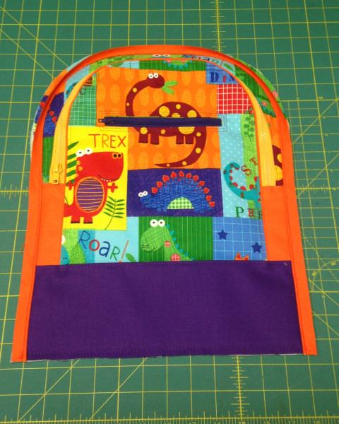 Adventure Time Backpack Sew Along: Day Two Front Pocket - two pretty poppets