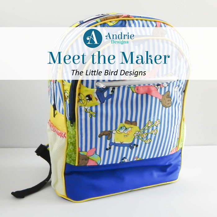 Meet the Maker - The Little Bird Designs - Andrie Designs