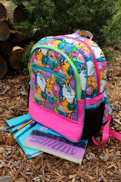Adventure Time Backpack Sew Along: Introduction - two pretty poppets