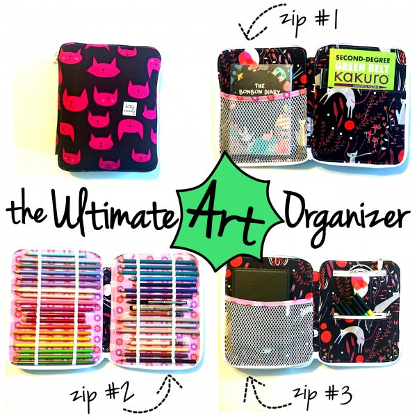 Ultimate Art Supply Case by Sew Sweetness (Photo courtesy of Bitter Candy Handmade)