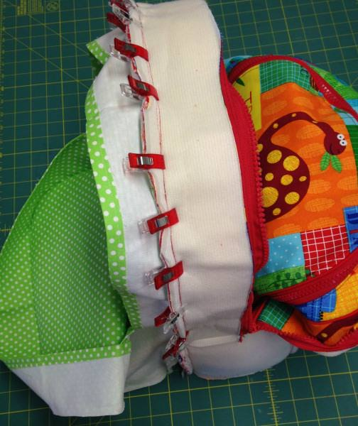 Adventure Time Backpack Sew Along: Day Six: Completing the Bag - two pretty poppets