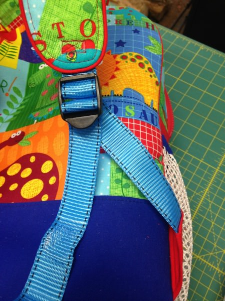 Adventure Time Backpack Sew Along: Day Four: Assembling the Outer Bag - two pretty poppets