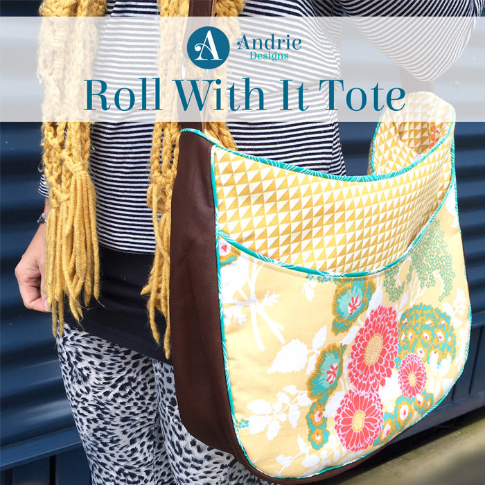 Roll With It Tote - Andrie Designs