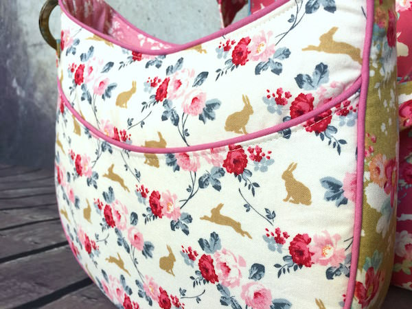 Roll With It Tote and the Tilda Showcase - two pretty poppets