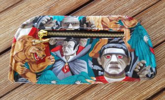 Back view of this Cleo Everyday Wallet - Andrie Designs