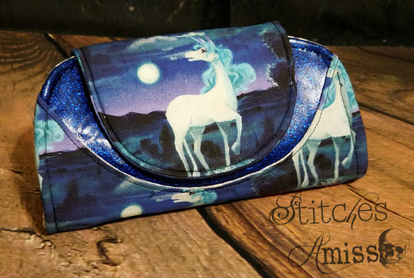 Unicorn! Cleo Everyday Wallet - Andrie Designs