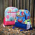 Boy and girl versions - Adventure Time Backpack - Andrie Designs