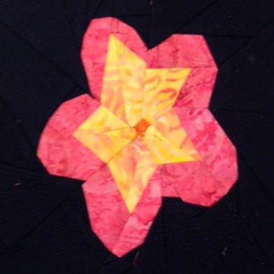 Plumeria Block - Love Rubie
