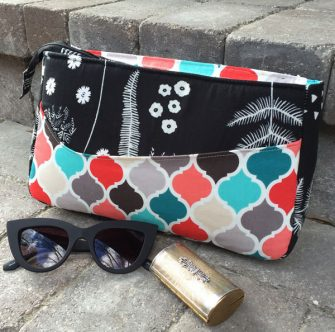 Makes for a fantastic 'quick trip to the shops' bag! Carry All Flexi Clutch - Andrie Designs