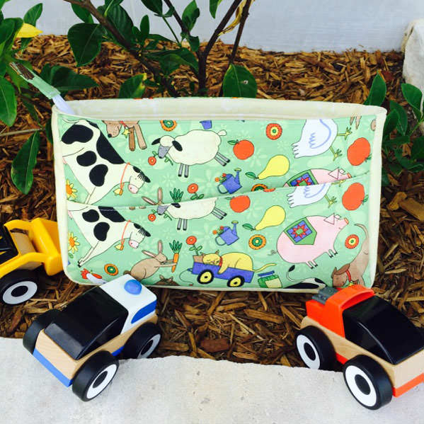 Perfect toy car carrier! Carry All Flexi Clutch - Andrie Designs