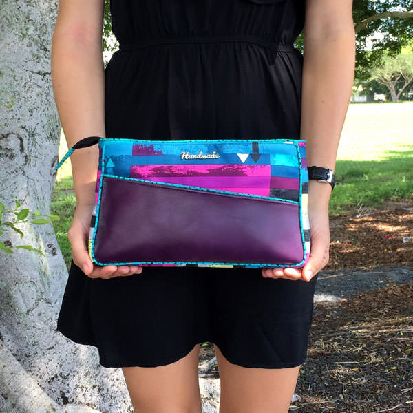Love my Katarina Roccella-themed Carry All Flexi Clutch - Andrie Designs