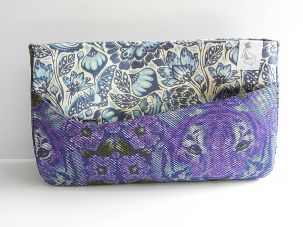 I spy you! Carry All Flexi Clutch - Andrie Designs