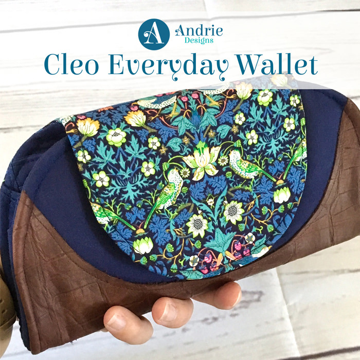 Title - Cleo Everyday Wallet - Andrie Designs