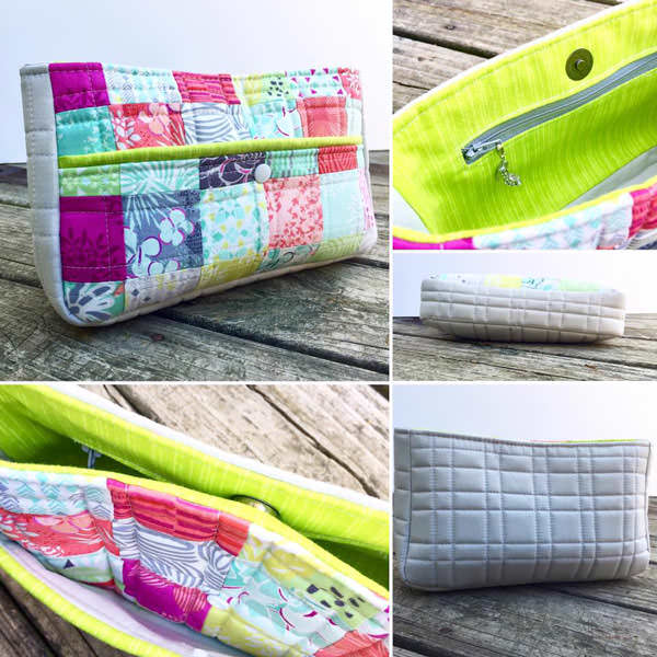 Carry All Flexi Clutch Swap 2016 - two pretty poppets