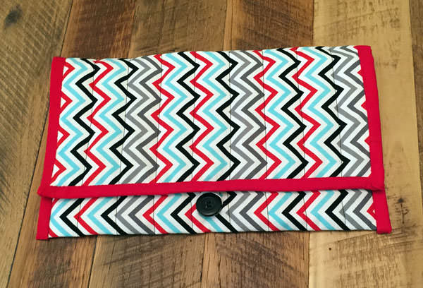 Awesome chevron Essential Diaper Clutch - Andrie Designs