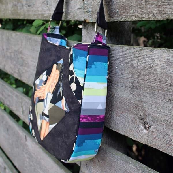 Side view of this WOW!!! Feature Me Everyday Tote - Andrie Designs