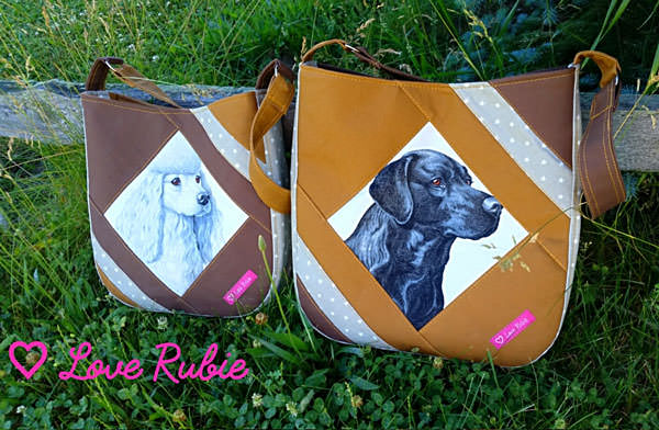 Love this set of dog-themed Feature Me Everyday Totes! - Andrie Designs