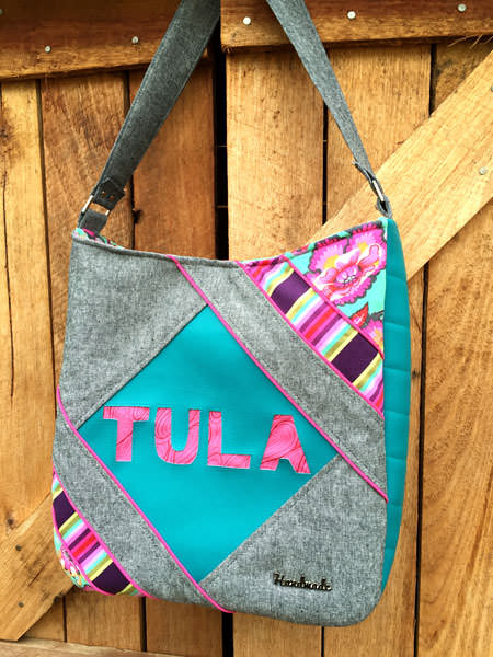 Tula Pink-themed Feature Me Everyday Tote - Andrie Designs