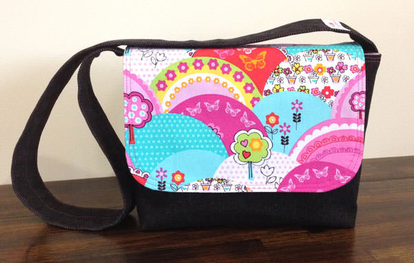 Colourful Good-To-Go Messenger Bag - Andrie Designs