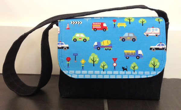 Vehicles Good-To-Go Messenger Bag - Andrie Designs