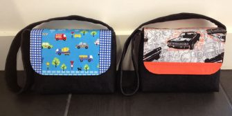 Vehicles and classic cars Good-To-Go Messenger Bags - Andrie Designs