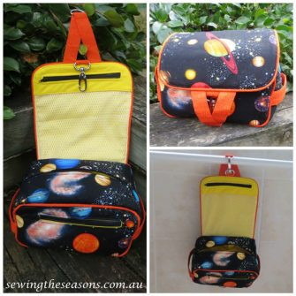 Out of this world Hang About Toiletry Bag - Andrie Designs