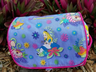 Alice in Wonderland-themed Hang About Toiletry Bag - Andrie Designs