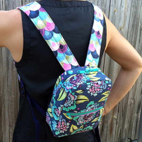Backpack version of the Little Freehand Pack - Andrie Designs