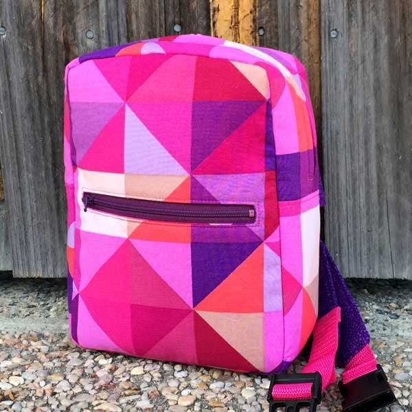 Pink geometric Little Freehand Pack - Andrie Designs